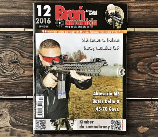 Broń i amunicja Grudzień 2016