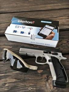 Elerton SENSOR – elektroniczny strażnik szafy na broń