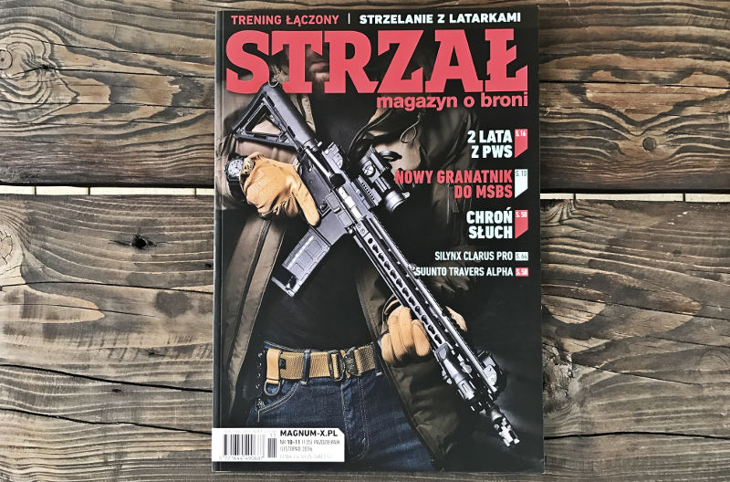 STRZAŁ magazyn o broni nr 135