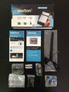 System alarmowy Elerton - elementy zestawu