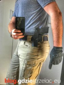 Kabura Designtech do pistoletu CZ P07