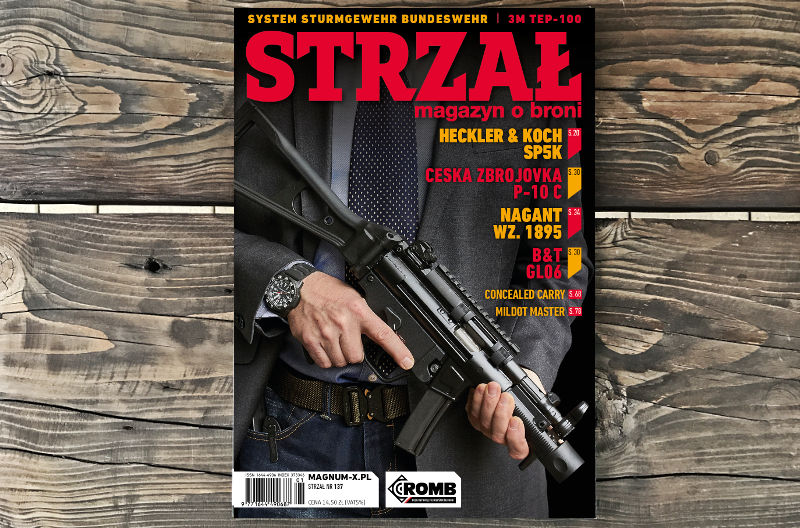 STRZAŁ magazyn o broni nr 137