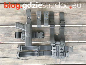 Kabura Designtech do pistoletu CZ P07 Panele i magazynki