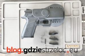 Kabura do pistoletu CZ P07 dźwignie retencyjne do kabury