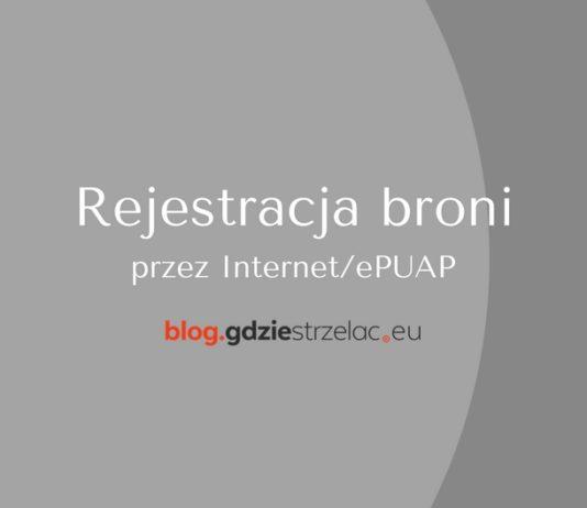 Rejestracja broni przez Internet
