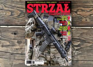 STRZAŁ magazyn o broni - okładka - nr 140 - 2017
